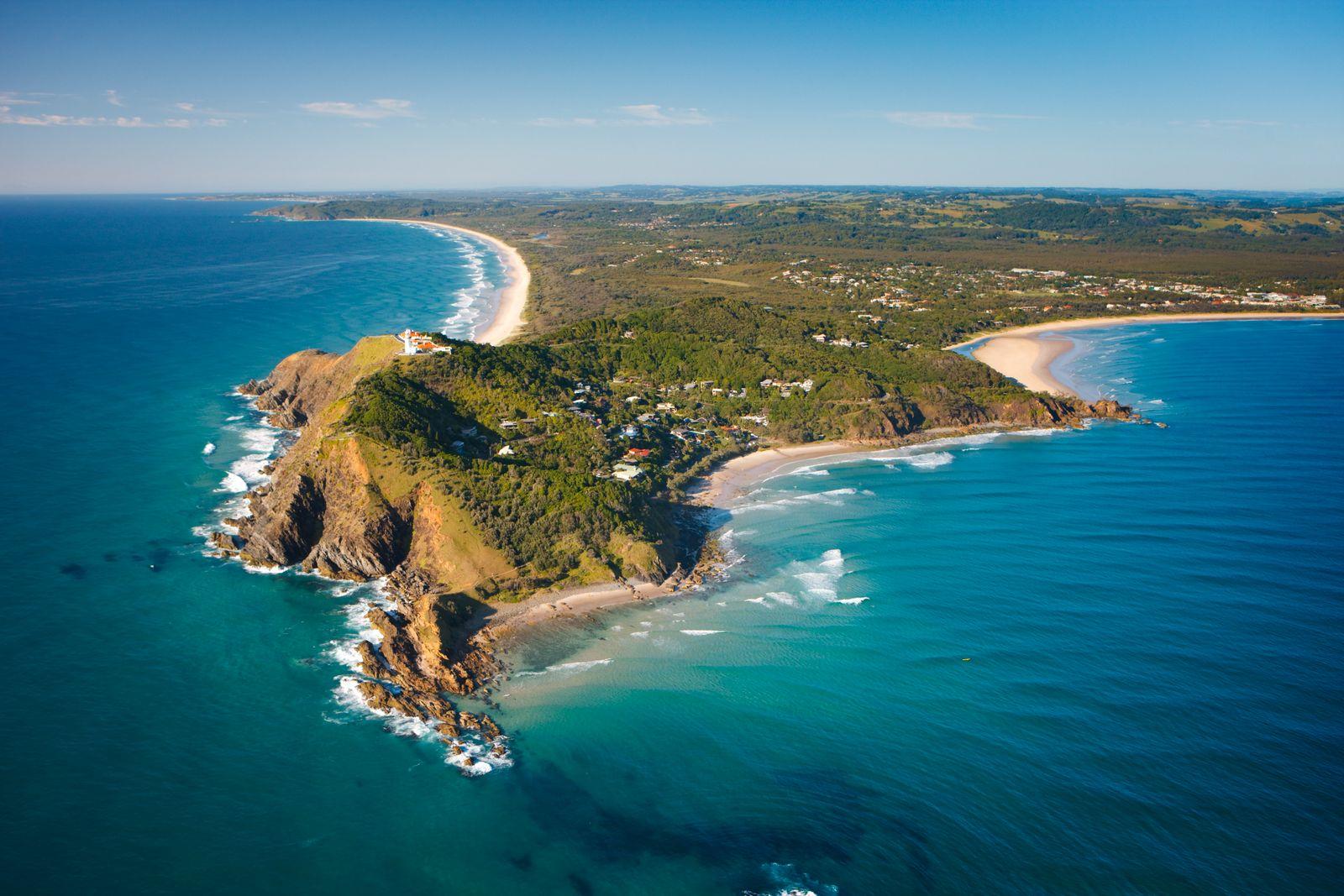 Byron Bay Aerial View
