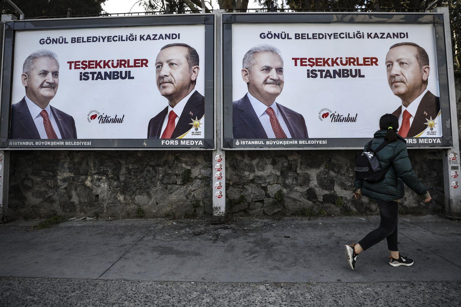 Türkei Wahlen Plakat