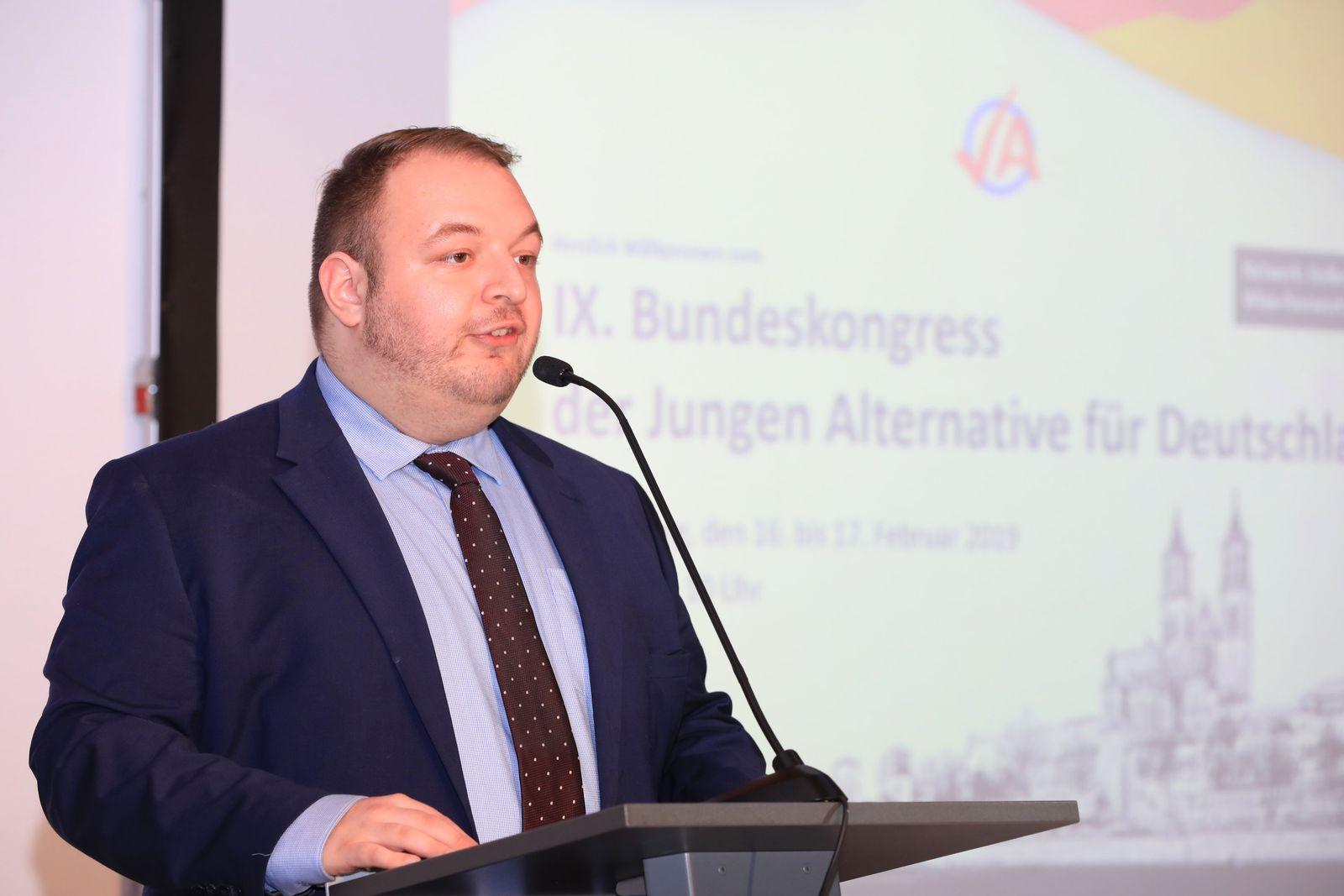 Damian Lohr/ Junge Alternative Magdeburg