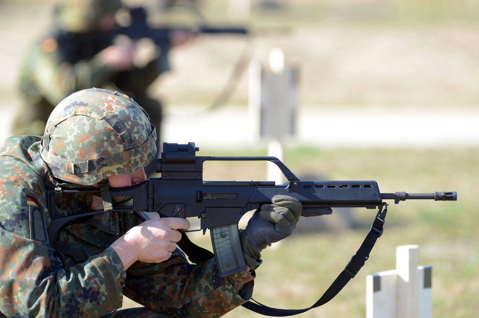 Deutsche Waffen in den Irak - G36