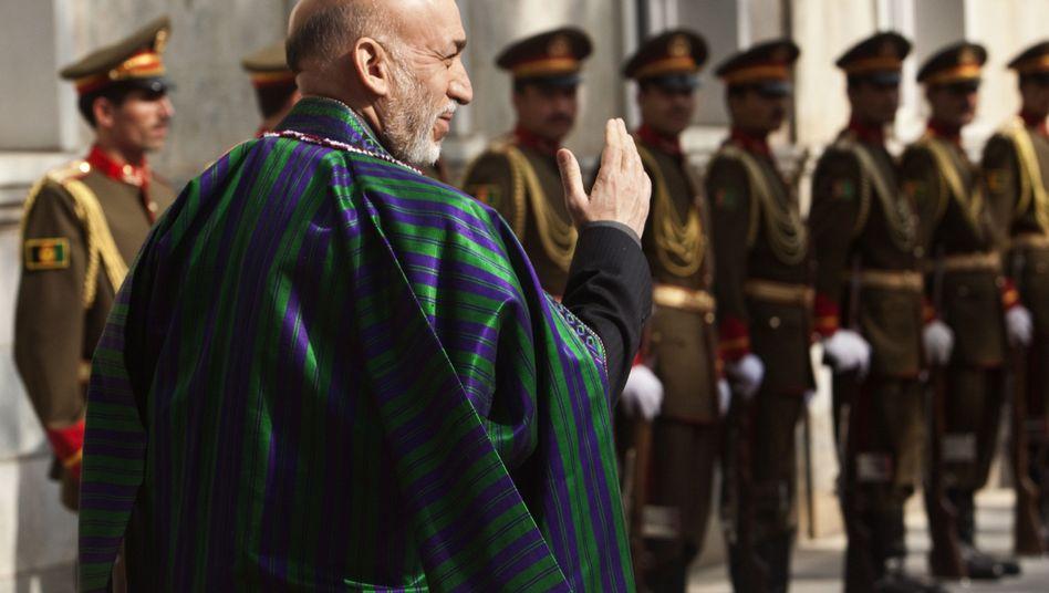 "Afghanischer Präsident Karzai: ""Den Schandfleck der Korruption entfernen"""