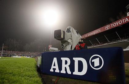 ARD-Kamera im Stadion: Bald noch mehr Fußball im Ersten