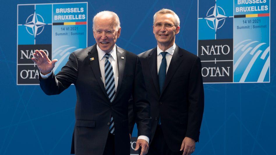 US-Präsident Biden, Nato-Chef Stoltenberg