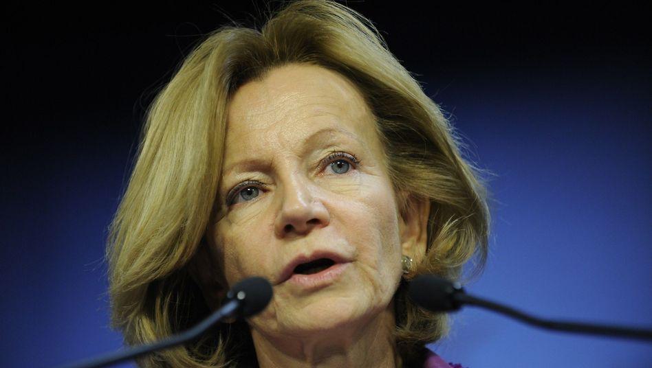 Spaniens Finanzministerin Salgado: Frist bis zum Herbst für Banken