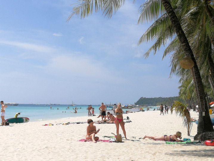 Sandstrand auf Boracay
