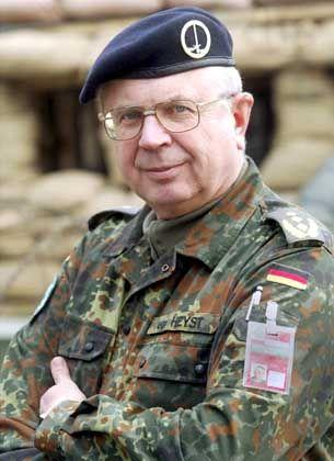 Norbert van Heyst ist Chef der Isaf-Friedenstruppe in Kabul
