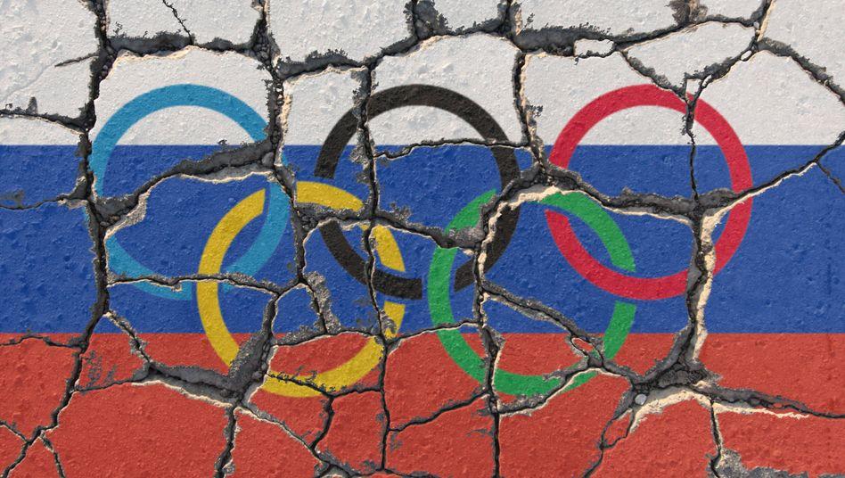Russlands Olympiateam droht zu zerfallen