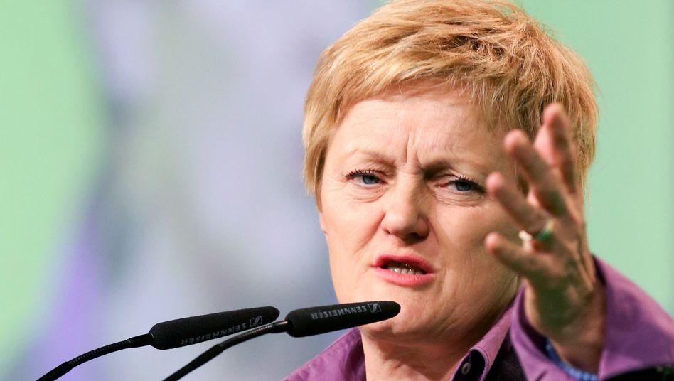 Fraktionsvorsitzende Renate Künast: Parteiführung verliert Abstimmung über V-Leute