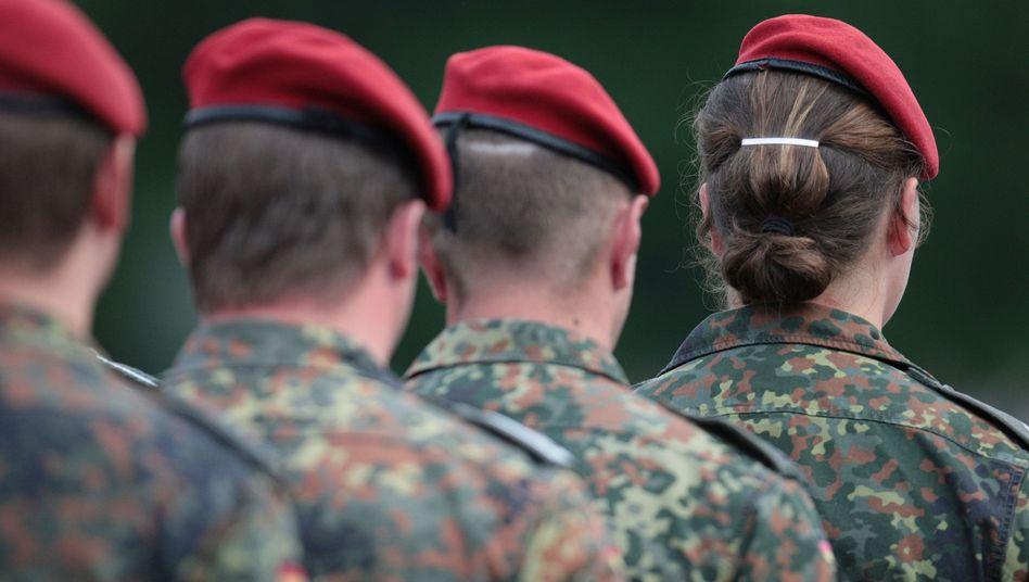 Soldatin bei der Bundeswehr
