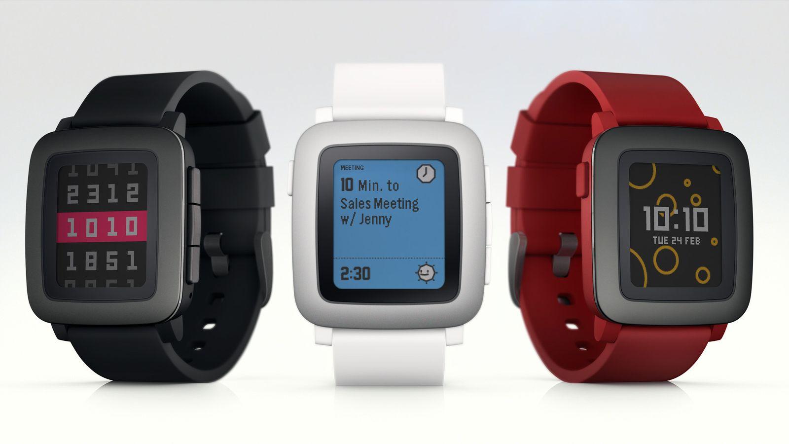Smartwatch von Pebble