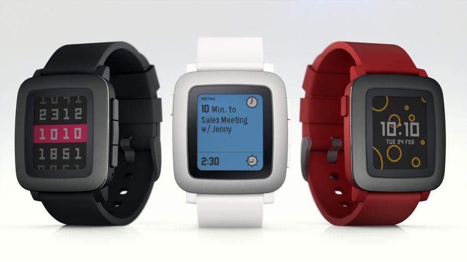 Pebble-Smartwatch: Die Macher versprechen ein farbiges Display und eine lange Akkulaufzeit