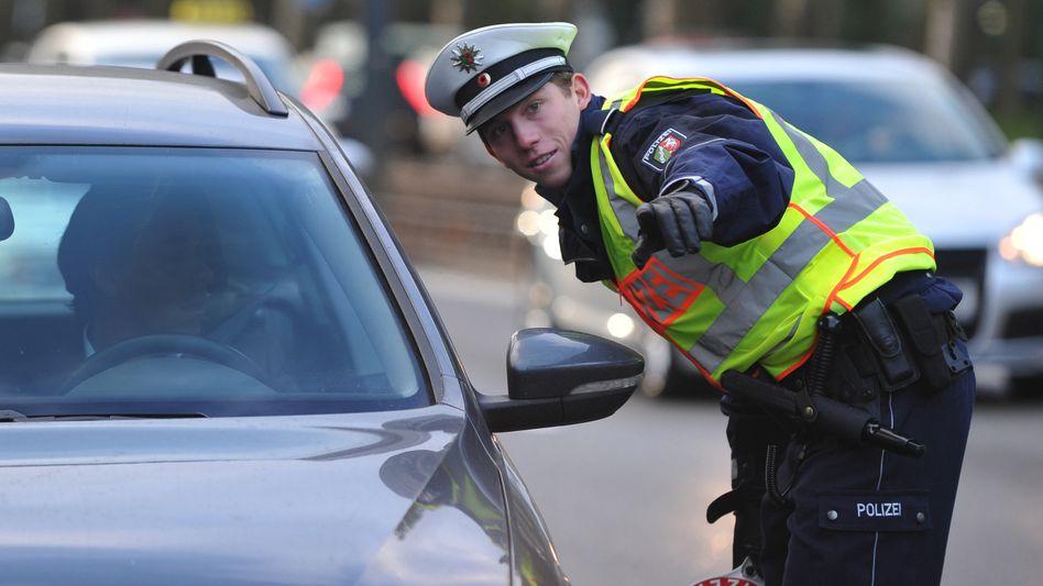 Polizeikontrolle: Große Koalition will Fahrverbot für Kleinkriminelle