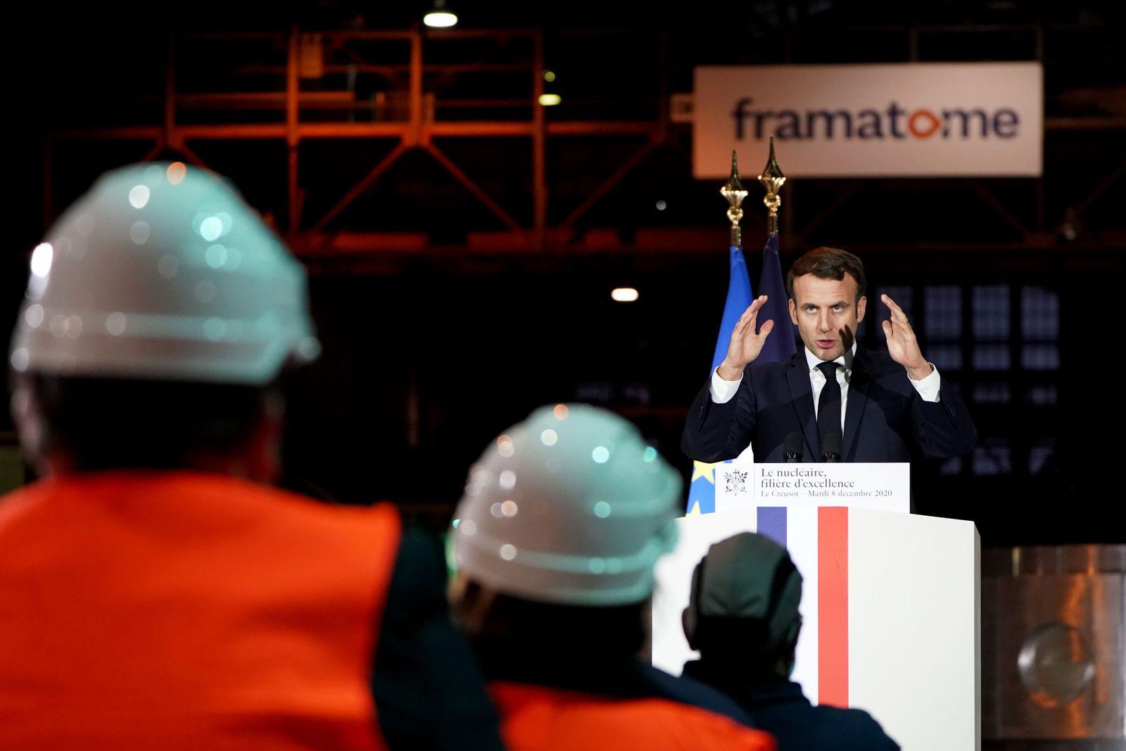 FRANCE-POLITICS-ENERGY-NUCLEAR