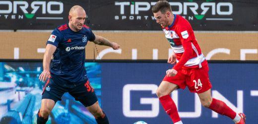 2. Bundesliga: Hamburger SV verliert nach 2:0-Vorsprung beim FC Heidenheim