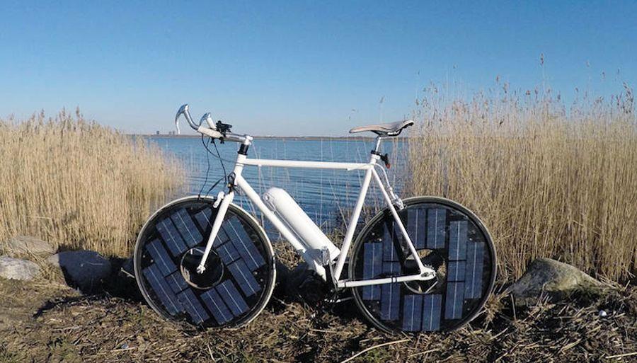 EINMALIGE VERWENDUNG SolarBike