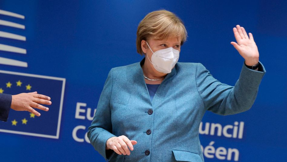 Bundeskanzlerin Angela Merkel am 10. Dezember in Brüssel