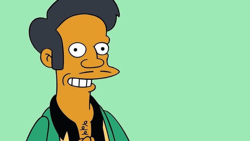 Trickfilmfigur Apu: »Ein indisches Klischee«