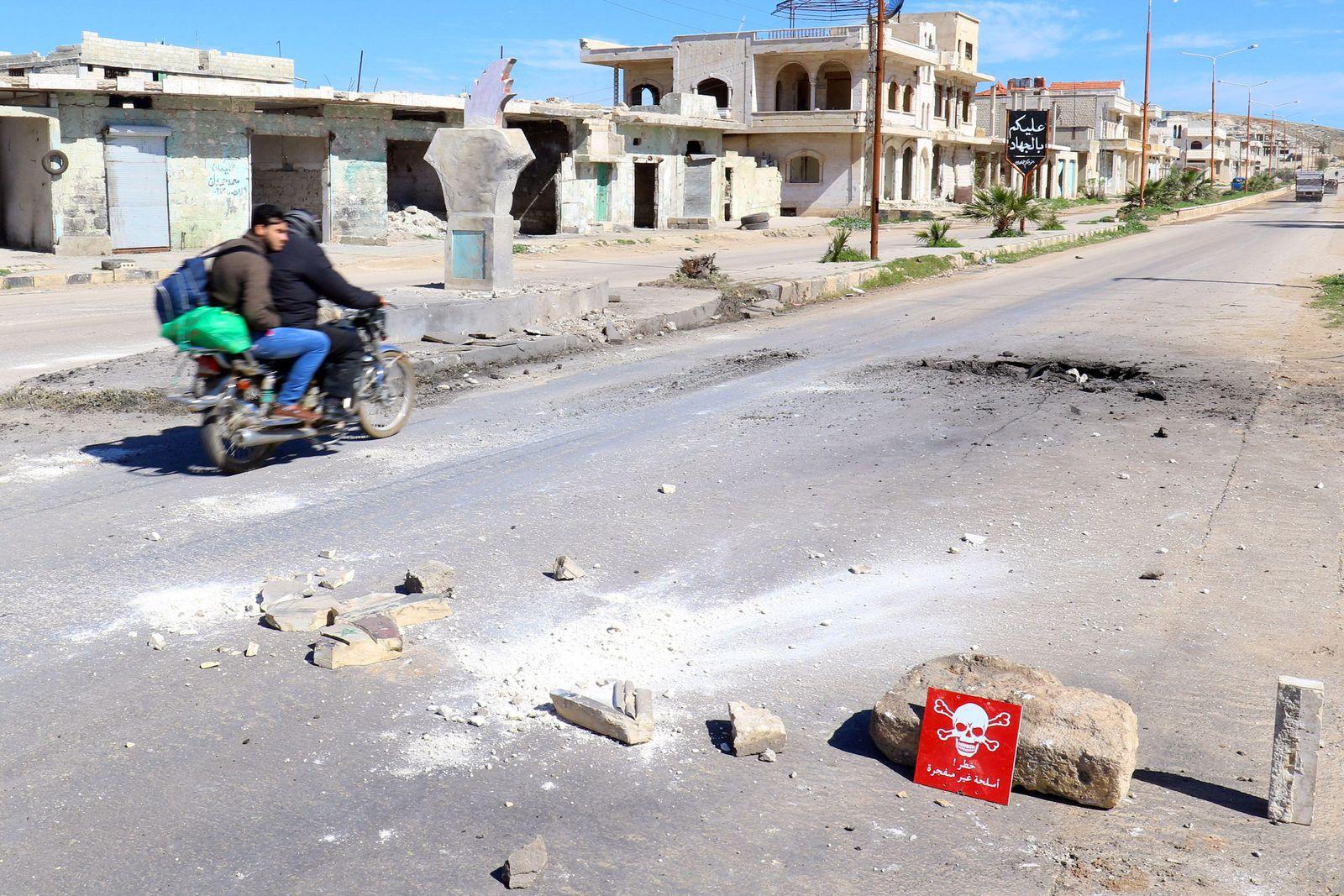 Chan Scheichun/ Syrien/ Giftgas