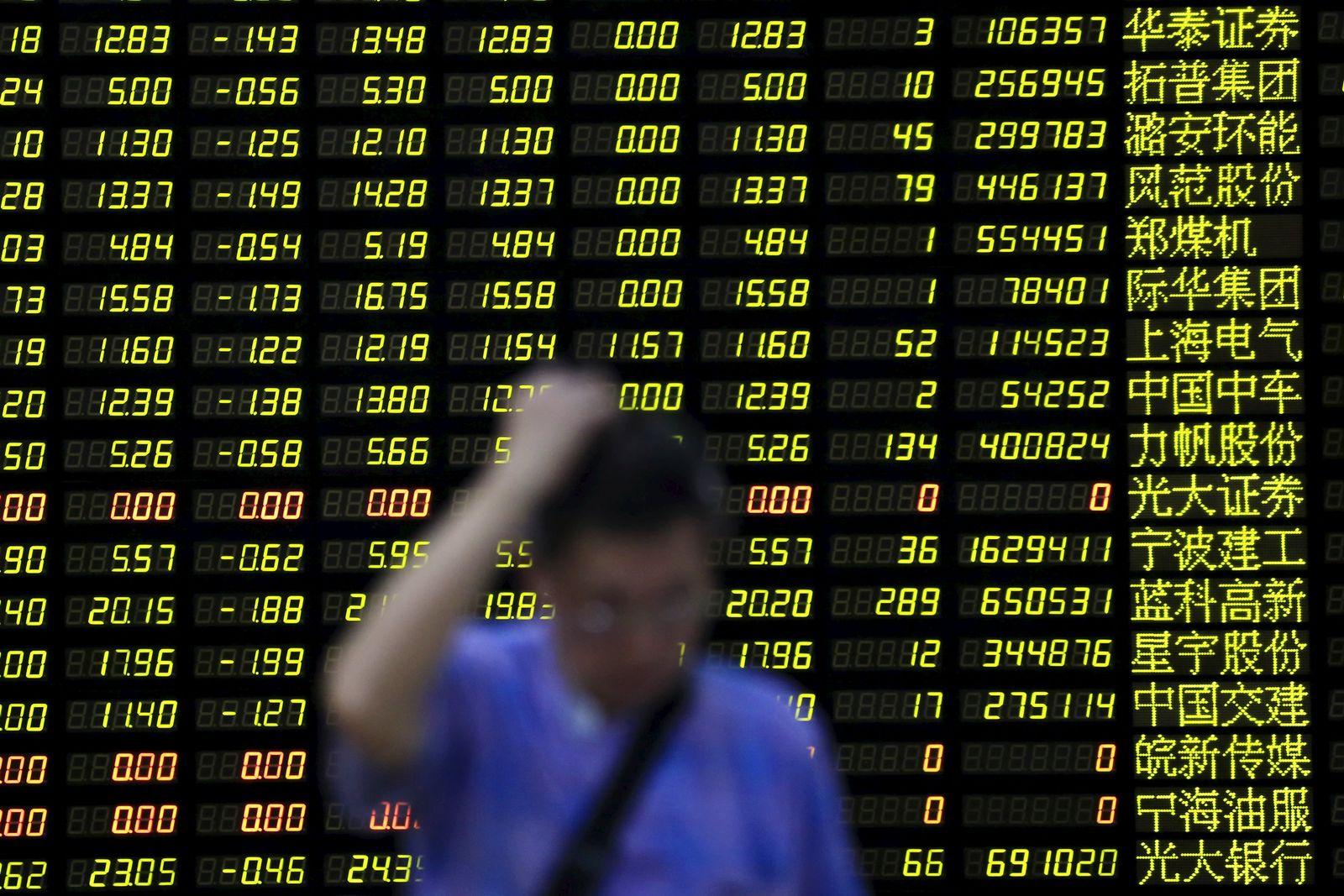 Shanghai/China/Börse