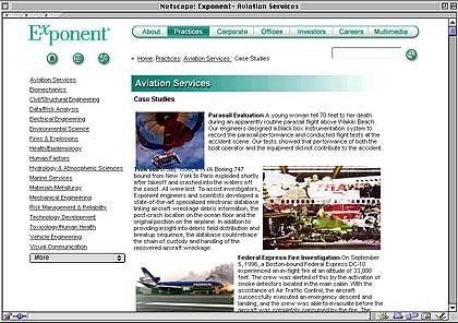 Exponent: Spezialunternehmen, das Gebäudeeinstürze oder Naturkatastrophen untersucht