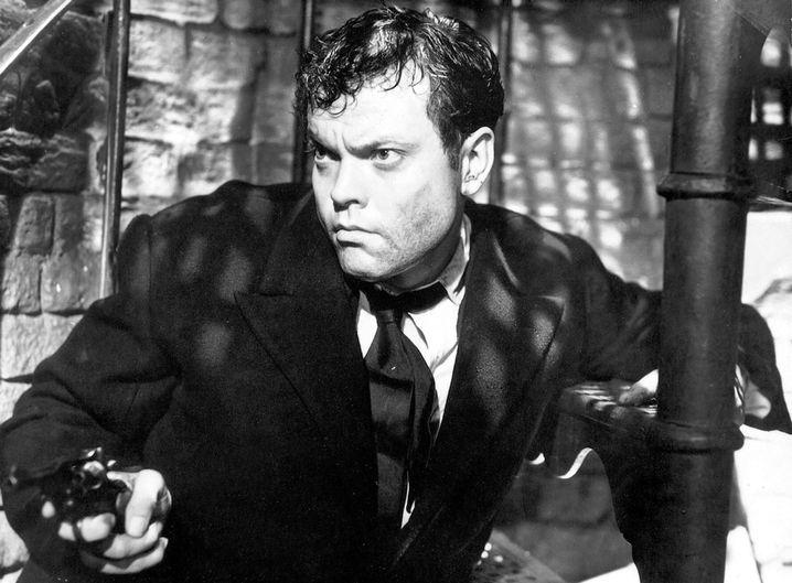 """Orson Welles in """"Der dritte Mann"""""""
