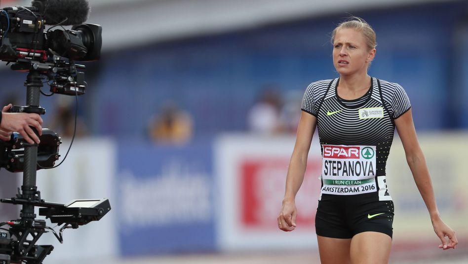 Leichtathletin Stepanowa