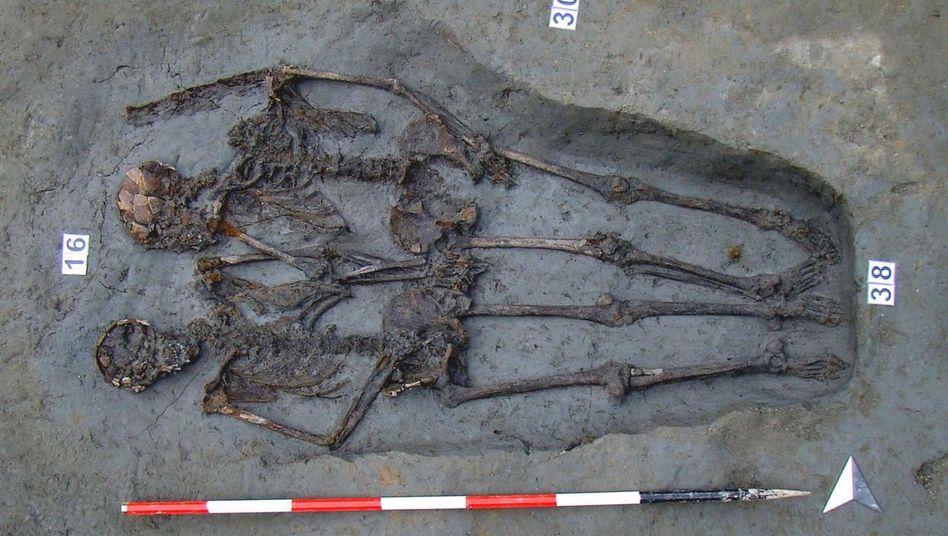 Archäologischer Fund aus Modena: In Italien fanden Forscher vor Jahren ein angebliches Liebespaar
