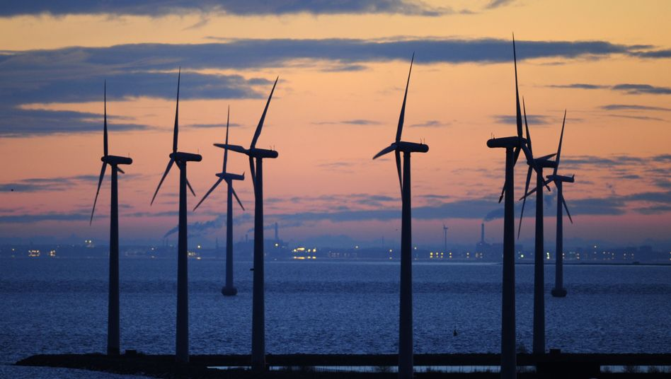 Dänische Offshore-Windkraftanlagen