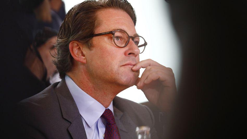 Verkehrsminister Andreas Scheuer: Überzeugen ließ der Rechnungshof sich nicht