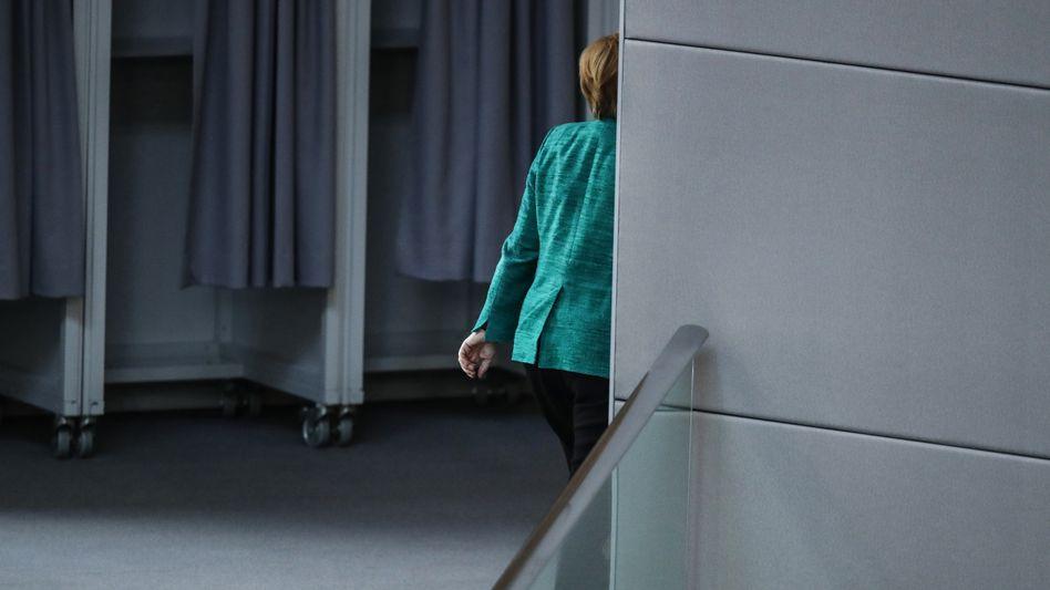 Bundeskanzlerin Angela Merkel: Der Einfluss Deutschlands ist nicht kleiner geworden