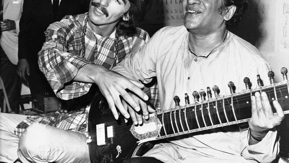 Zum Tod von Ravi Shankar: Der Himmel ist um einen Gott reicher