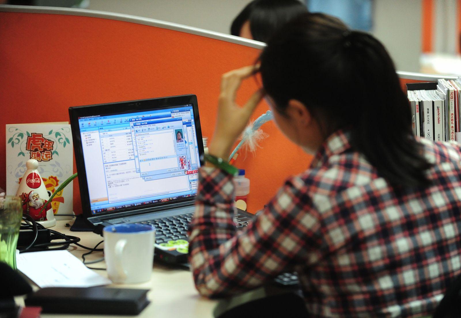 China/ Frauen/ Arbeit