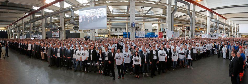 VW-Mitarbeiterversammlung