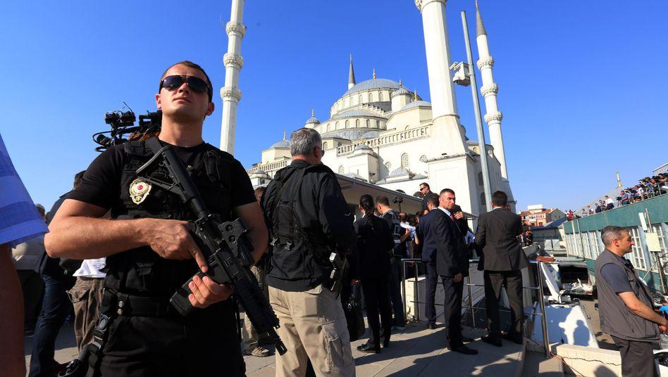 Sicherheitskräfte in Ankara