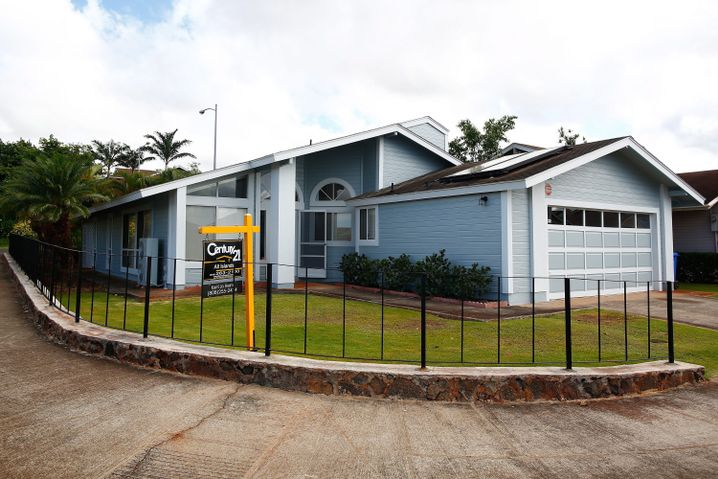 Ehemaliges Haus von Snowden in Waipahu auf Hawaii