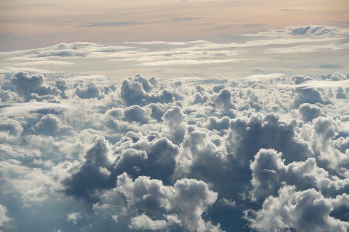Die Welt von oben: Denken Sie nicht über Risiken nach. Denken Sie daran, was für ein wunderschönes Privileg Sie da gerade erleben