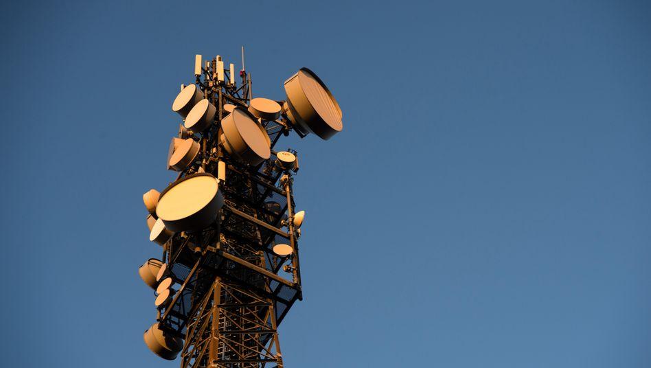 Mobilfunkmast in der Nähe von Sternenfels: Bald sind die 3G-Netze Geschichte