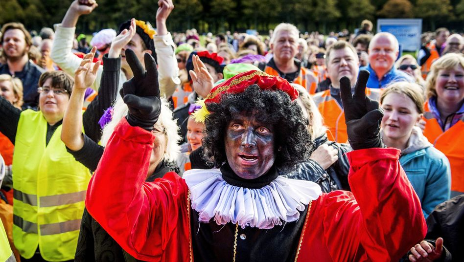 Nikolaushelfer in Den Haag: Gegner halten die Figur für rassistisch