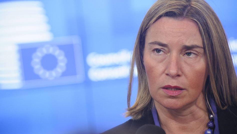 Die Außenbeauftragte der EU, Federica Mogherini