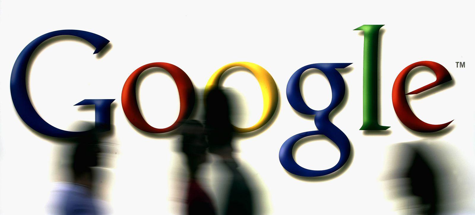 NICHT VERWENDEN Google/ Buchmesse/ Logo