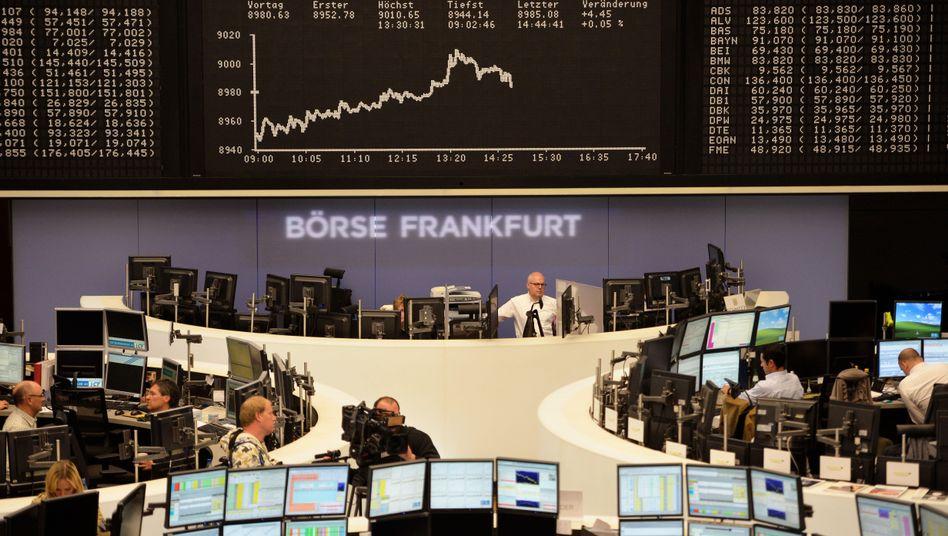 Börse Frankfurt: Vor allem europäische Investoren interessiert an deutschen Firmen