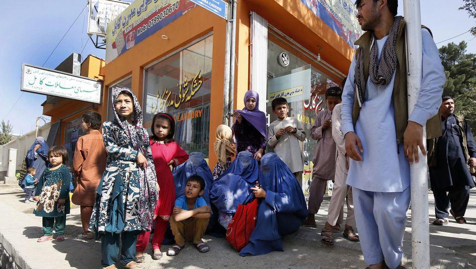 Flüchtlinge in Afghanistan