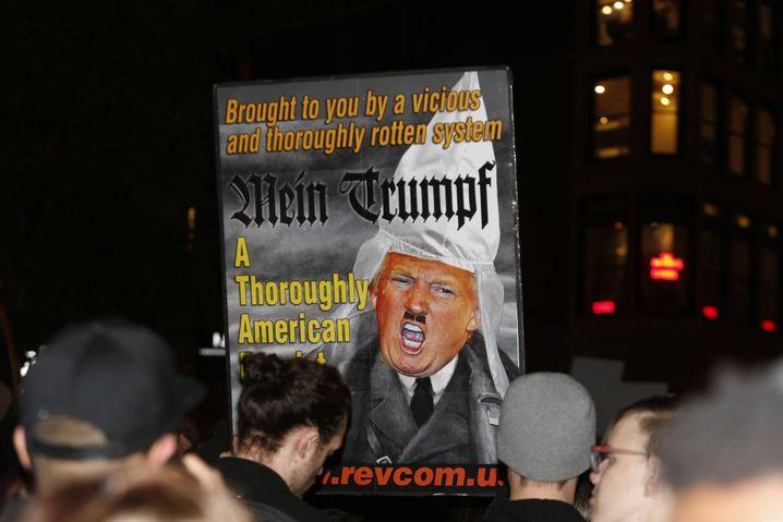 Anti-Trump-Protest in New York