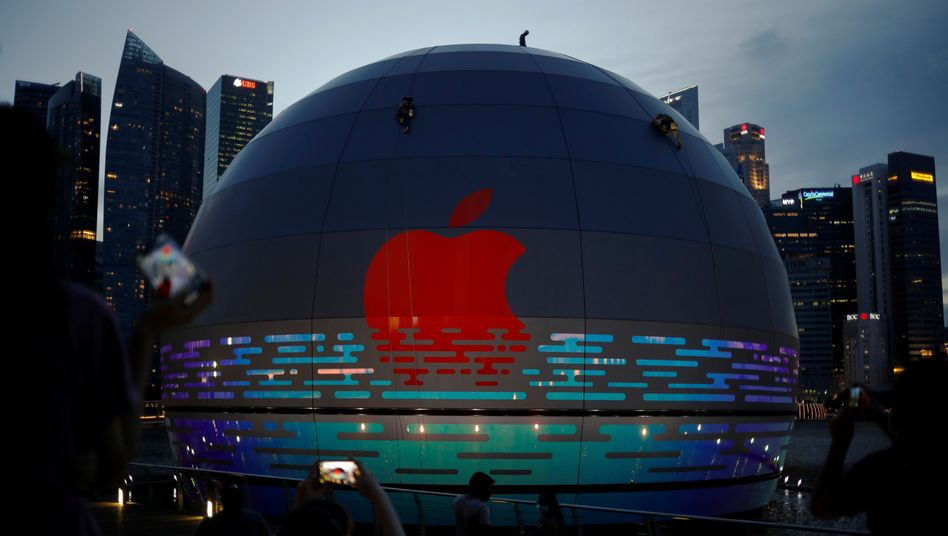 Apple Store in Singapur