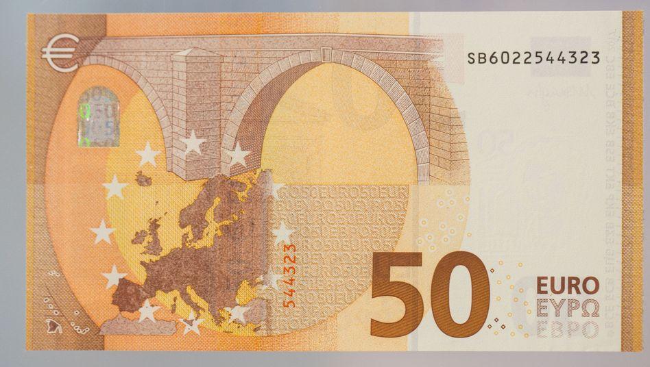Neue 50-Euro-Note