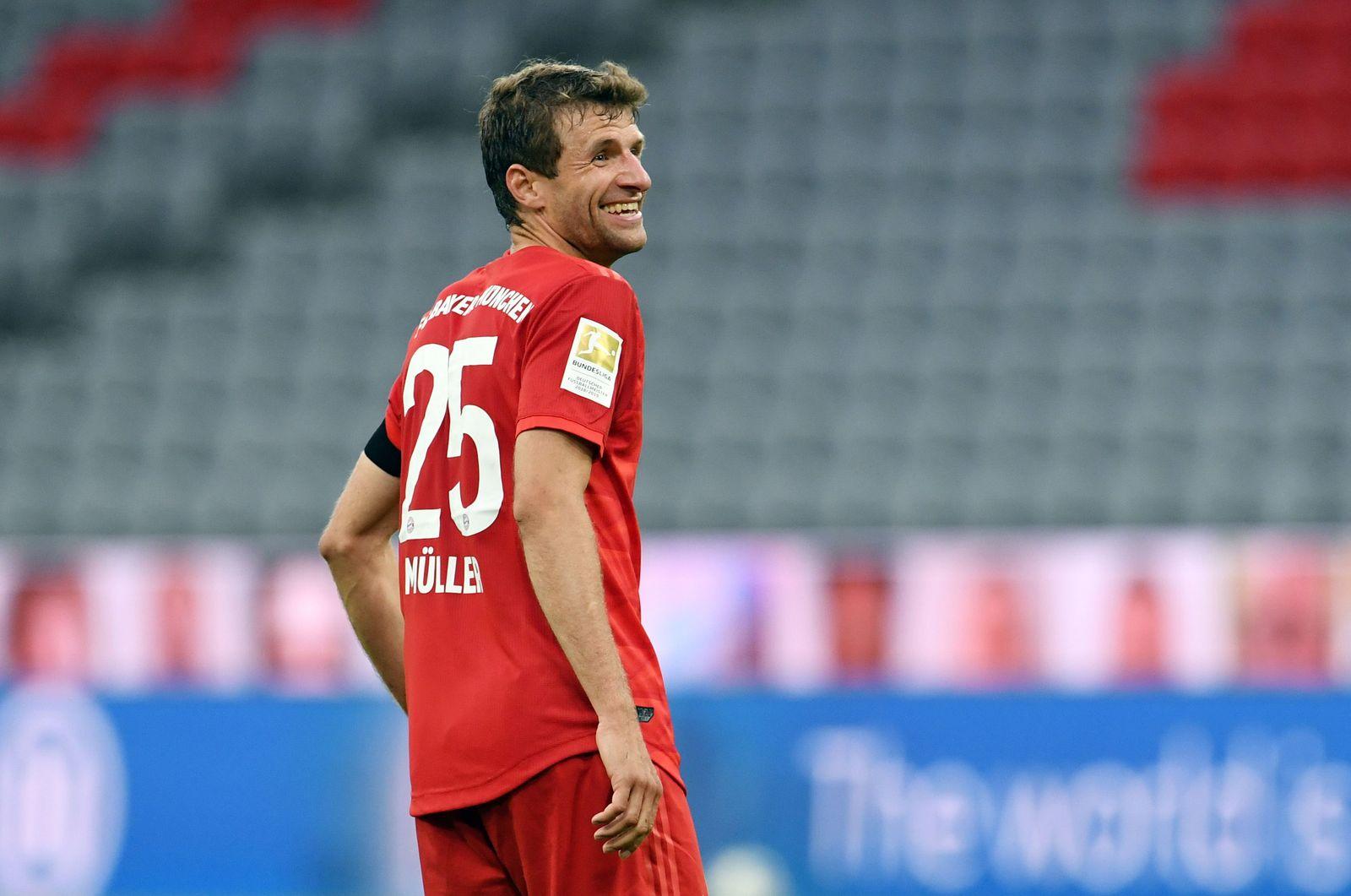 Bayern Munich vs Eintracht Frankfurt, Germany - 23 May 2020