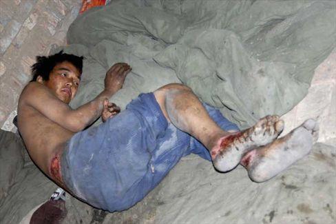 Arbeiter in einer Ziegelei in Shanxi: Schuften für Wasser und Brot