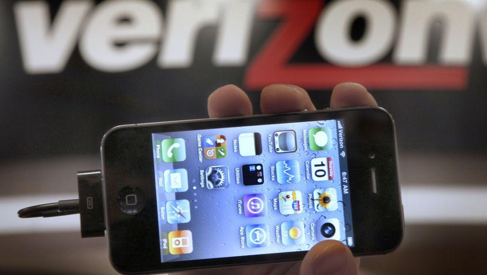 Amerikanischer Telekom-Anbieter Verizon: Big Brother hört mit
