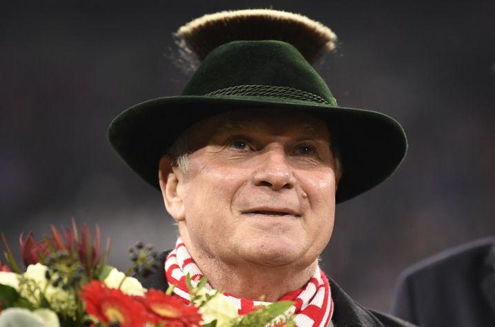 Uli Hoeneß hatte seinen Posten als Bayern-Präsident vor zwei Wochen an Herbert Hainer übergeben