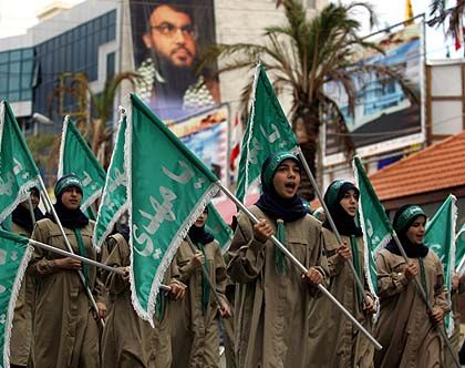 Shiite protesters: A state within a state.